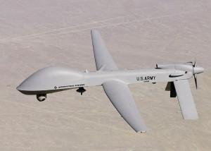 En US Army-drone af typen Sky Warrior-Alpha.